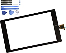 Eaglewireless Front Panel Touch Screen Digitizer Replacement Parts for Amazon Kindle Fire HD8 7th Gen 2017 Release SX034QT+Tools