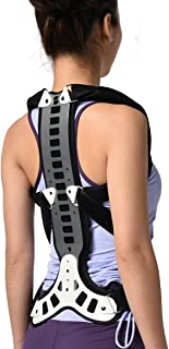 Slimerence Metal Back Posture Corrector, Spinal Brace Support Recover, Humpback Correction, Back Shoulder, Neck Pain Relief, Spinal Cord Posture Support, Adjustable, Periarthritis