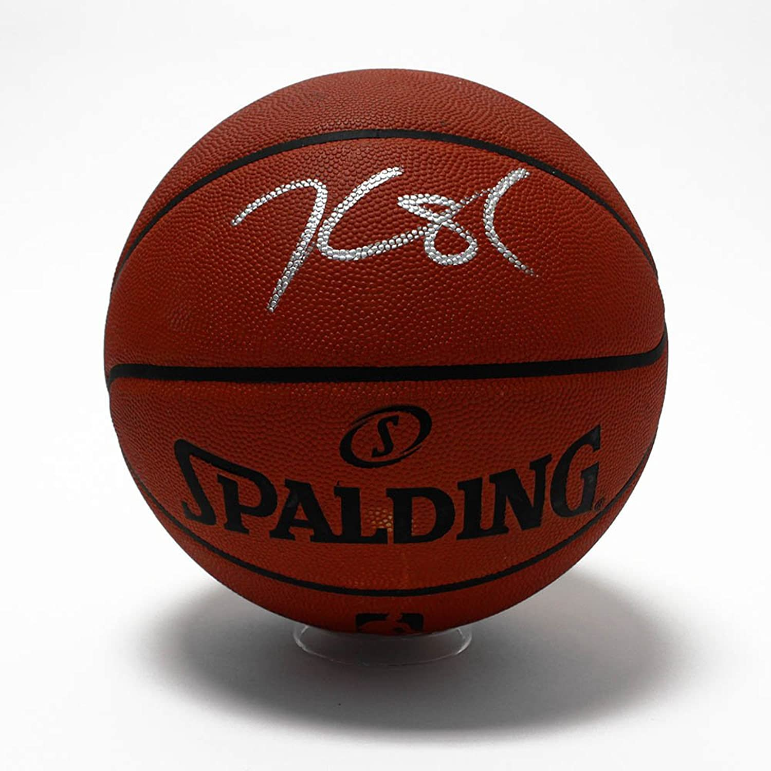 Kevin Durant Autographed Spalding NBA Official Game Basketball  PSA