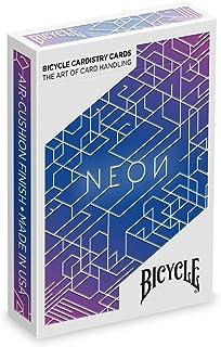 Bicycle Neon Aurora Blue Koleksiyoner iskambil Oyun Kağıdı Cardistry Kartları