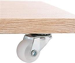 Beter 4 Stukken Meubelwielen Zwenkwielen 1 inch Swivel Rotor Roterende Wiel Highstrength PP + Metal voor Trolleys Meubels ...