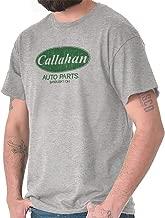 Brisco Brands Callahan Auto Parts 90s Movie Retro Parody T Shirt Tee