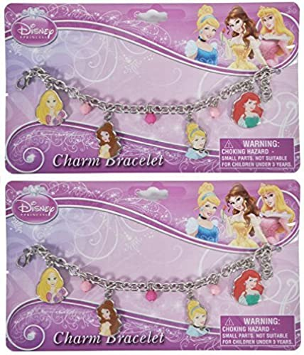 autorización Disney Princesses Charm Bracelet 2 Pack by by by Disney  compra en línea hoy