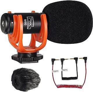 Camera Video Microphone, Videomicro and Shotgun Microphone Compact On-Camera Microphone for Smartphone and DV Digtal Cameras