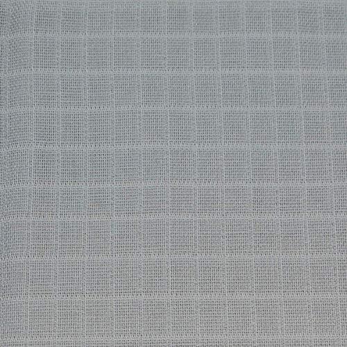 Dudu N Girlie 100% algodón bebé muselina cuadrados, 70 cm x 70 cm, 12 piezas, rosa y blanco