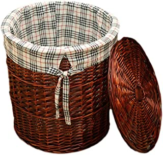 Xuan - Worth Having Corbeille en rotin Classique Panier en Osier Rangement for la lessive boîte tissée boîte de Bain 3 Cou...