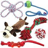 Well Love Juguetes para perro,juguetes para masticar,cuerda de...