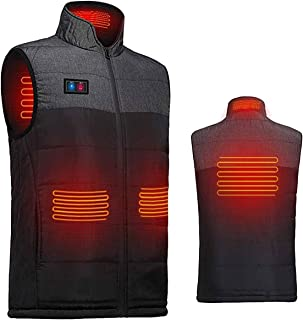 USB Electric Heated Vest Heated Waistcoat Charging Heating Vest