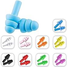 10 paar siliconen oordopjes voor zwemmers, oordopjes voor zwemmen en volwassenen, oordopjes om te slapen, zachte siliconen...