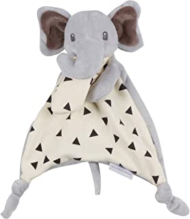 Humble Bebe Lovey Security Snuggler Elephant. Unisex Grey. Ideal Baby Shower, Birthday Gift for Newborns, Infants, Toddlers