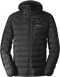 Sponsored Ad - Eddie Bauer Men's Downlight Hooded Jacket, Black Regular M