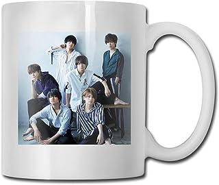 King&Prince キン-プリマグカップ オフィス コーヒー カップ 大容量 朝食 カップ セラミックカップ シンプル かプール 330ml