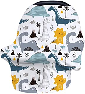 Nursing Cover Breastfeeding Cover, Stretchy Car Seat Cover for Babies, Soft Breathable Infant Carseat Canopy, Shopping Car...