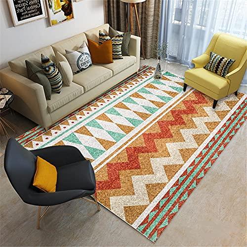 Kunsen sideboards living room Crystal Velvet Carpet Orange Yellow Durable and Color-Fast Living Room chair living room rugs living room large 160x230cm 5ft 3' X7ft 6.6'