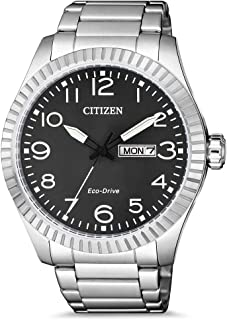 CITIZEN 西铁城 男士 指针 石英手表 不锈钢表带 BM8530-89EE