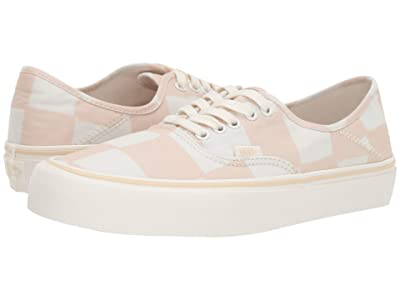 Vans Authentic SF ((Big Check) Macadamia/Marshmallow) Lace up casual Shoes