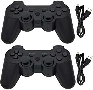 Ceozon PS3 Controller Wireless 2 Pack Playstation 3 Controller Bluetooth Gamepad Compatible for Sony PS3 Controller Wirele...