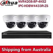 Dahua 4MP Varifocal PoE IP Security Camera System, 2.7mm~13.5mm Motorized 5X Optical Zoom Outdoor Surveillance Camera,4K ...