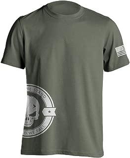 United We Stand Military Sniper Skull T-Shirt