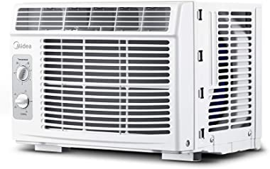 MIDEA MAW05M1BWT Window air conditioner 5000 BTU with Mechanical Controls, 7 temperature settings, 2 cooling and fan settings