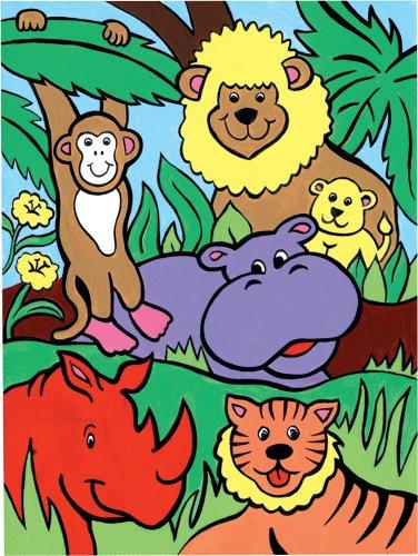 Royal & Langnickel MFP9 Ma première Peinture d'après les chiffres Animaux de la Jungle