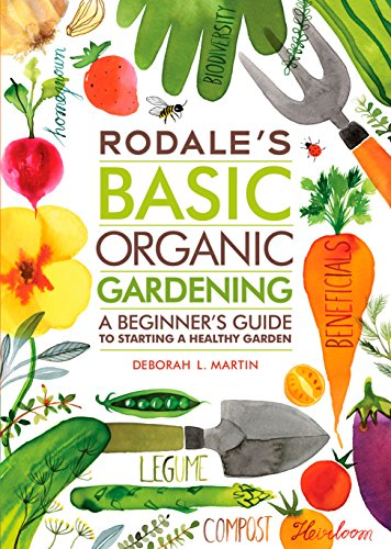 One of the best gardening books for beginners: Rodale's Basic Organic Gardening #aNestWithAYard #book #gardenBook #backyardGarden #garden #gardening #gardenTips #gardencare
