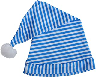 Blue & White Striped Night Cap, Child