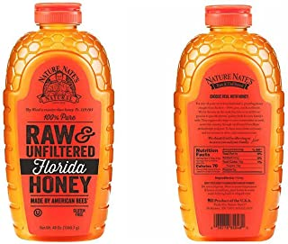 Nature Nate's 100% Pure Raw & Unfiltered Honey; 48-oz. Squeeze Bottle