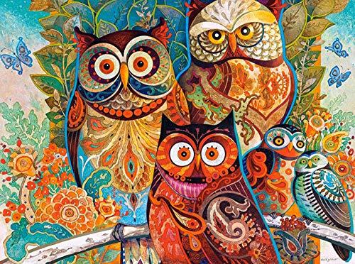 SiJOO Spot Castorland Qiaosi Adulto Polaco Importar Puzzle Puzzle Owl 2000 Regalos