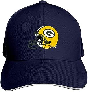 Green Bay Packers Bucket Hat Men's Baseball Cap Adjustable NFL Trucker Hat for Women Navy