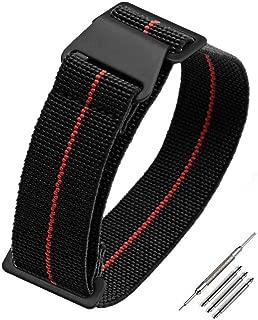 Yiye pavilion Man's Parachute Special Elastic Nylon Band 20mm/21mm/22mm High-end Superior Watch Nylon Strap