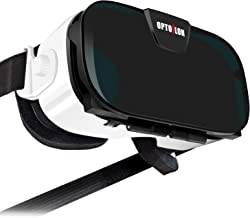 Virtual Reality Headset, OPTOSLON 3D VR Glasses for Mobile Games and Movies, Compatible 4.7-6.2 inch iPhone/Android Phone, Including iPhone XS/X/8/8Plus/7/7Plu