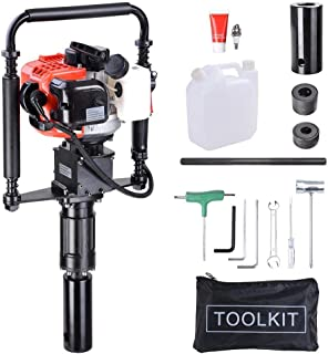 Gas T Post Driver 2 Stroke 32.7cc Manual Portable Lightweight Petrol Piledriver