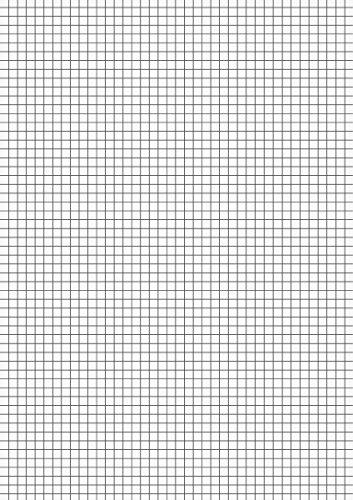 Brunnen 102100850 Kanzlei-Papier / Kanzleibogen (A4, kariert, 80 g/m², 50 Blatt eingeschweißt)