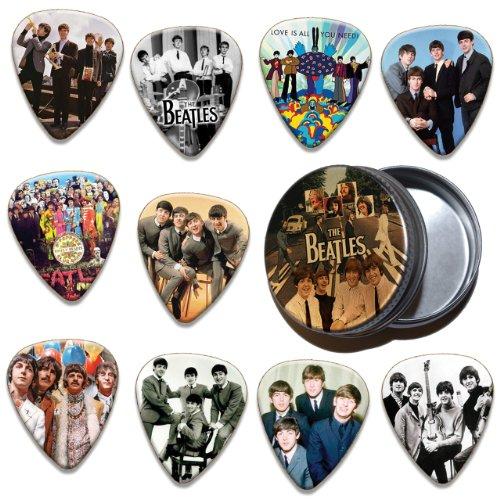Beatles 10x púa (Púas Púas y lata (limitada a 100)