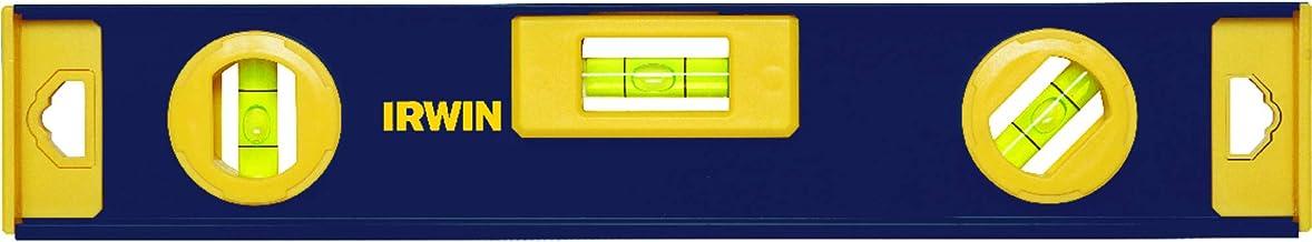"""Irwin 1884604, Nível de Alumínio Magnético 305 mm/12"""", Azul e Amarelo"""