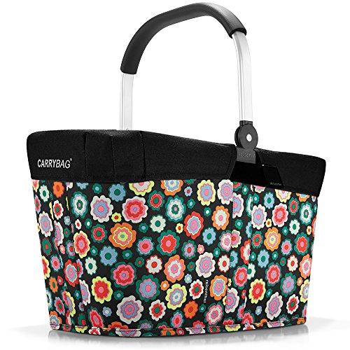 reisenthel - EXKLUSIVES ANGEBOT! carrybag + GRATIS passendes cover ! Einkaufskorb Einkaufstasche (happy flowers)