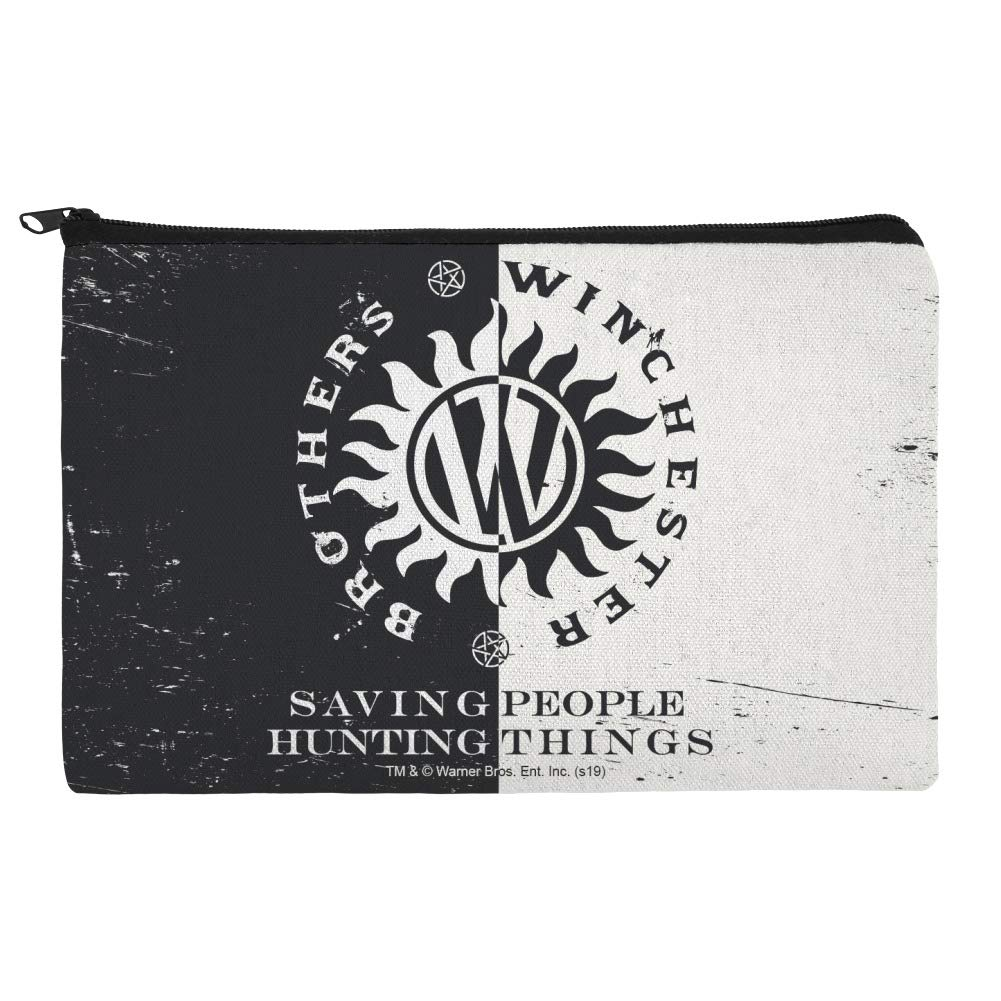Supernatural Brothers Winchester Makeup Cosmetic Organizer Limited time for OFFicial site free shipping Bag P