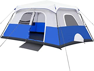 Camping Tent, 8/10 Person Instant Cabin Tent, Easy Setup...