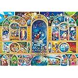 500ピース ジグソーパズル ディズニーオールキャラクタードリーム ぎゅっとシリーズ 【ステンドアート】(25x36cm) [並行輸入品]