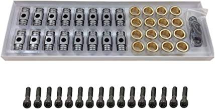Engine Pro Rocker Arm Bronze Bushing Trunion Kit with Bolts for Chevrolet Gen III IV LS Engines