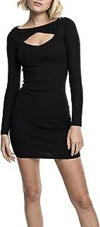 Urban Classics Ladies Cut out Dress Vestito Donna