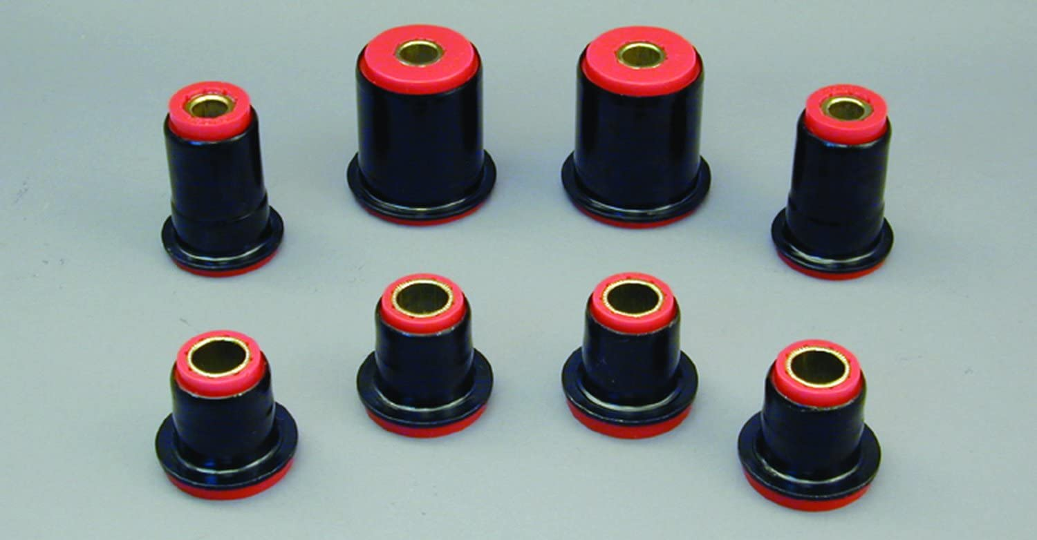 In a popularity Prothane 7-213 Red cheap Front Control with Kit Shells Bushing Arm
