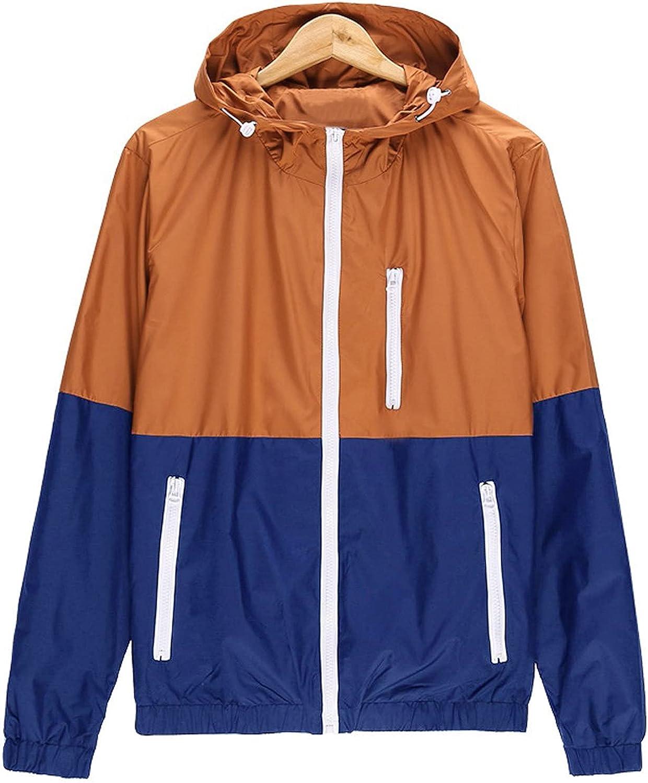 Womens Casual Winter Jackets Outdoor Sportswear Windbreaker Lightweight Bomber Jackets