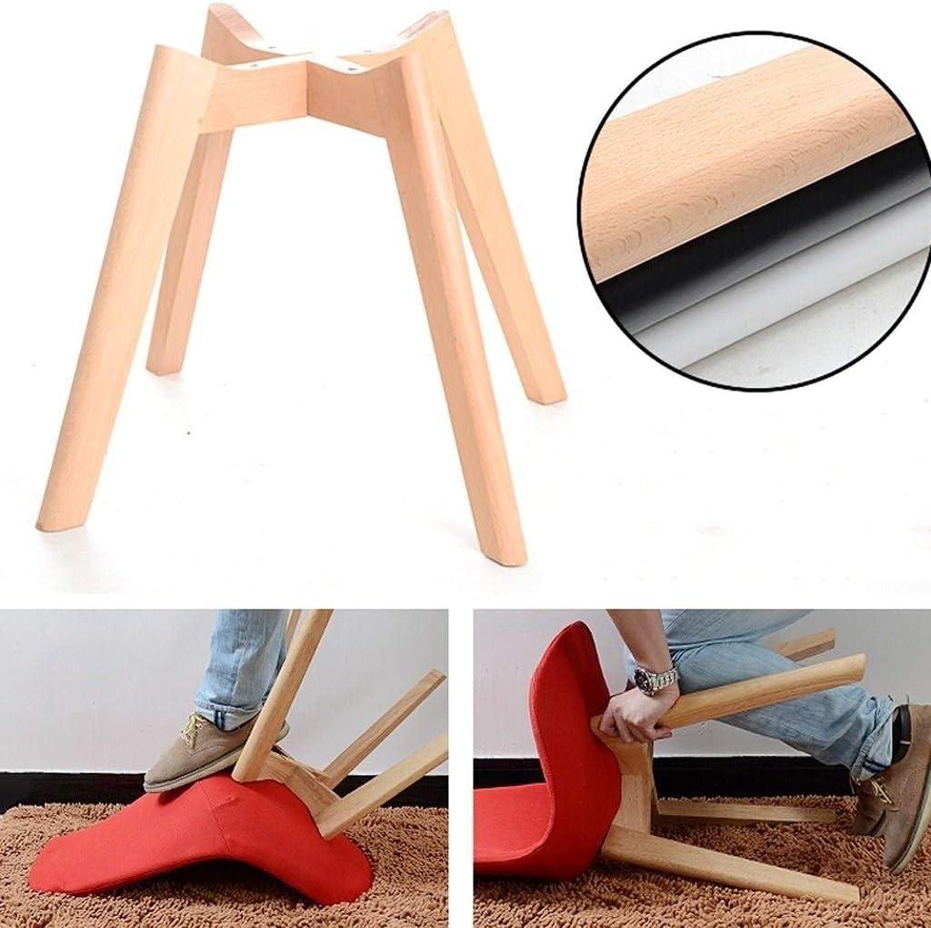 ZBHW Nordic Chair Chaise de salle à manger minimaliste moderne Home Back Soft Chair Chaise de canapé en bois massif Chaise de loisirs Chaise d'étude (Color : F) A