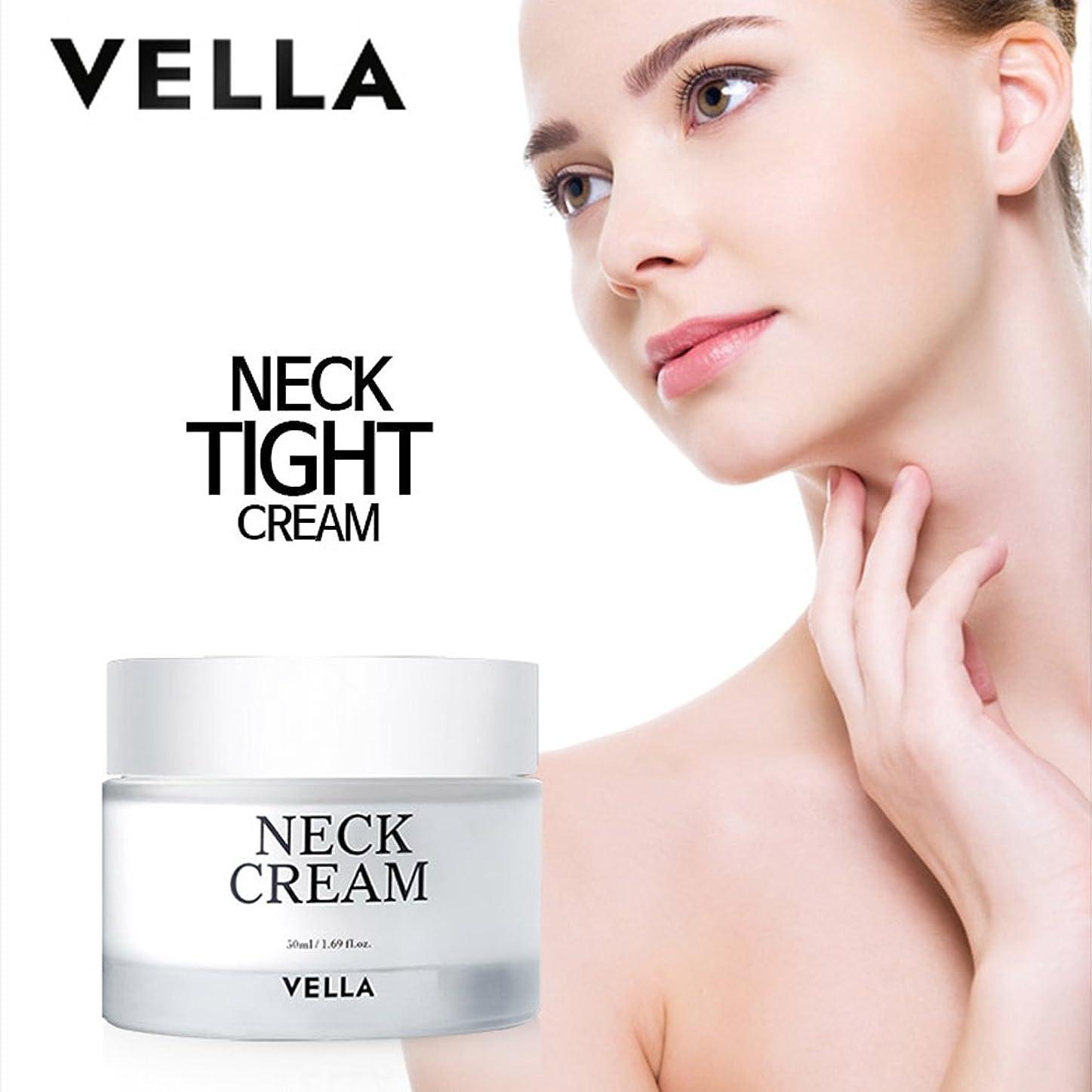 眩惑する文字通り令状VELLA Anti Wrinkle & Whitening Strong Neck Cream(体がキレイvella首専用のクリーム) 50ml [並行輸入品]