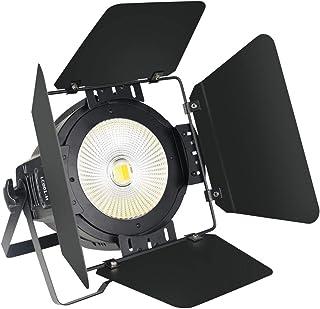Sponsored Ad - SevenStars Stage Light with Barn Doors, 100W COB Cool & Warm White DJ Par Light for for Professional DJ Sho...