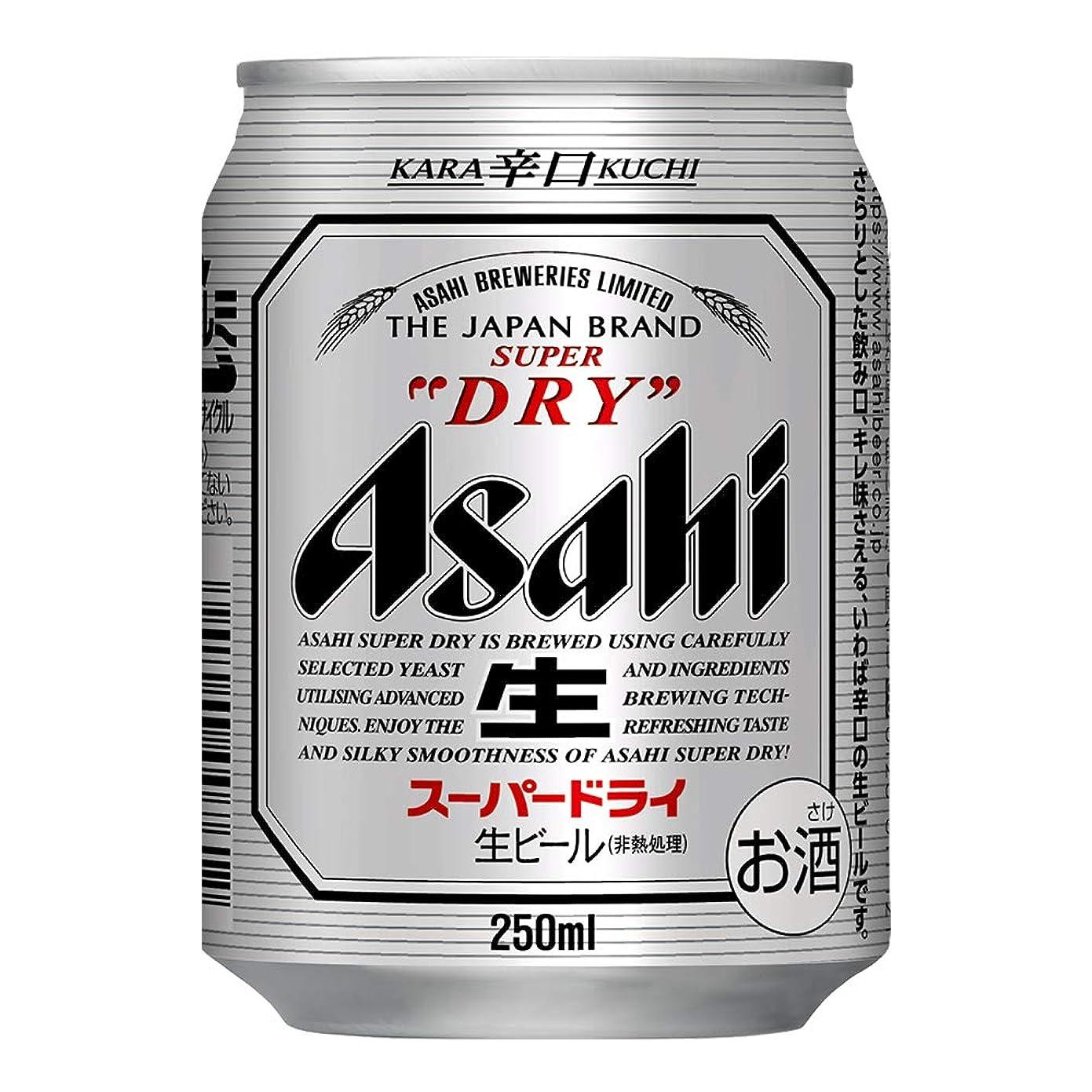 対人上昇アパルアサヒ スーパードライ [ 250ml×24本 ]