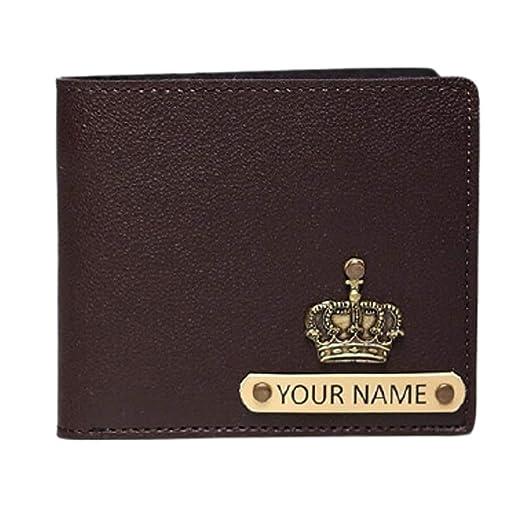 Brown Faux Leather Men's Wallet (PMW)