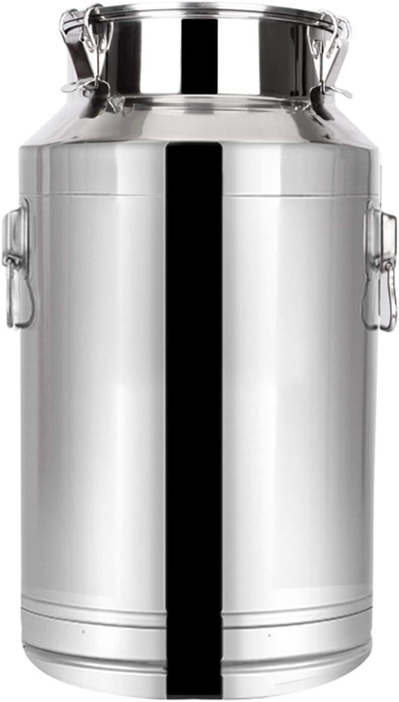 Stainless Cheap SALE Start Steel Max 88% OFF Milk Can Fermentation Barrel Transportable